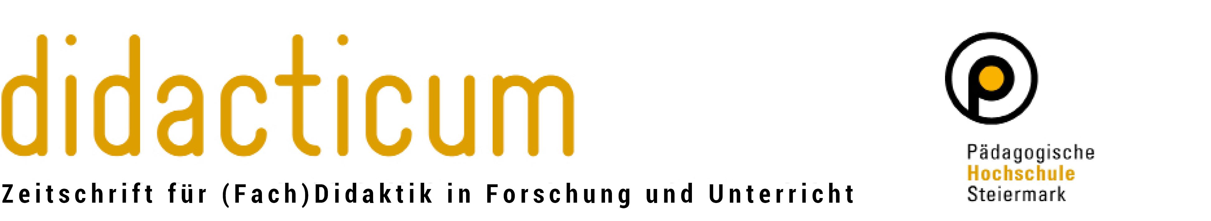 Zeitschrift für (Fach)Didaktik in Forschung und Unterricht